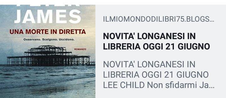 #21giugno #libri #thrillers #thriller#gialli #leggiamoNOVITA\