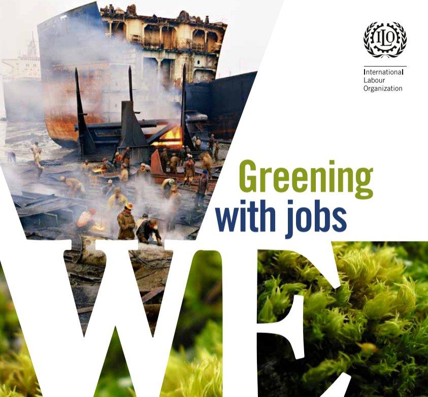 """""""Greening with jobs"""": da qui al 2030, 6 milioni di nuovi posti di lavoro grazie alla #circulareconomy. Il report dell\"""