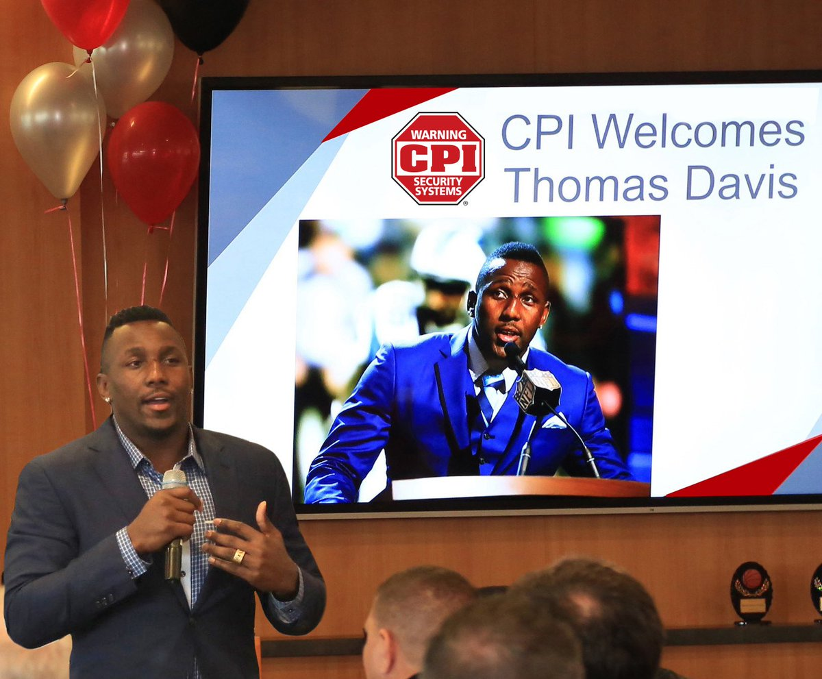 We&#39;re just a couple days away from the 2018 @HighSchoolOT Honors event with @WRAL! CPI Security is honored to sponsor Panthers linebacker, Thomas Davis, as this year&#39;s featured speaker. For details  http:// ow.ly/IwKj50hBEfr  &nbsp;  <br>http://pic.twitter.com/PpOGuop26E