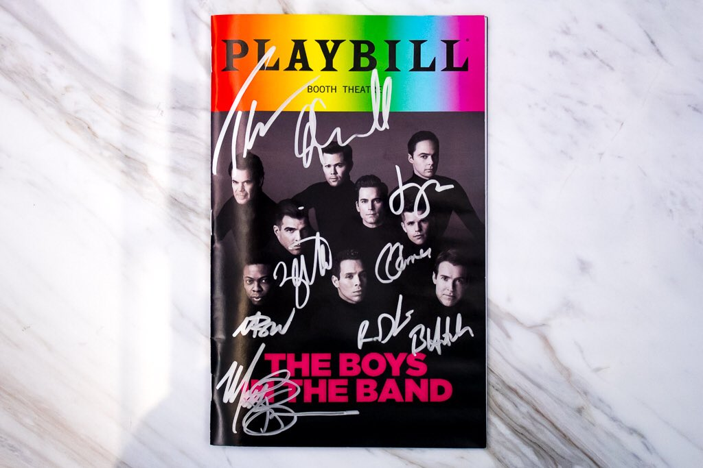 What better way to celebrate #pride than with a #BoysintheBand #pridebill?! RT and follow us for a chance to win this ultimate party favor. Terms and Conditions in bio.