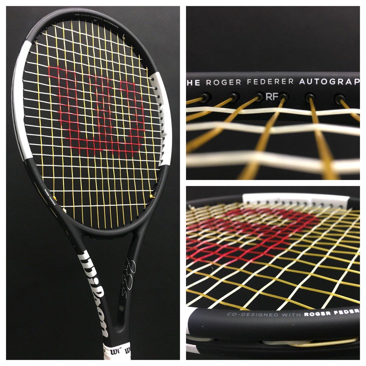 Tennis Channel On Twitter Rogerfederer S New Wilson Pro Staff Is