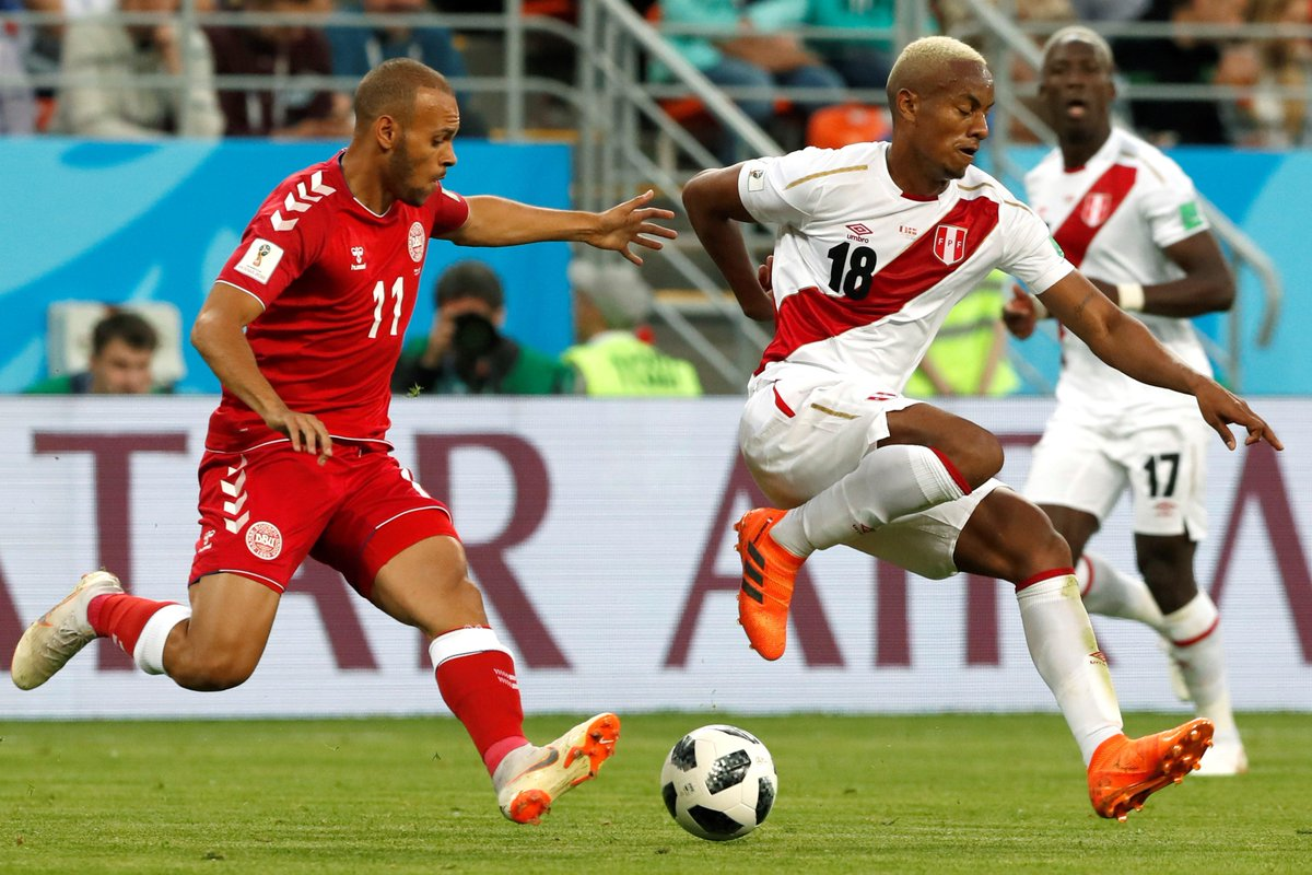 More minutes for @MartinBraith as #Den draw with #AUS ➡️ bit.ly/2MKgl9F #WorldCup