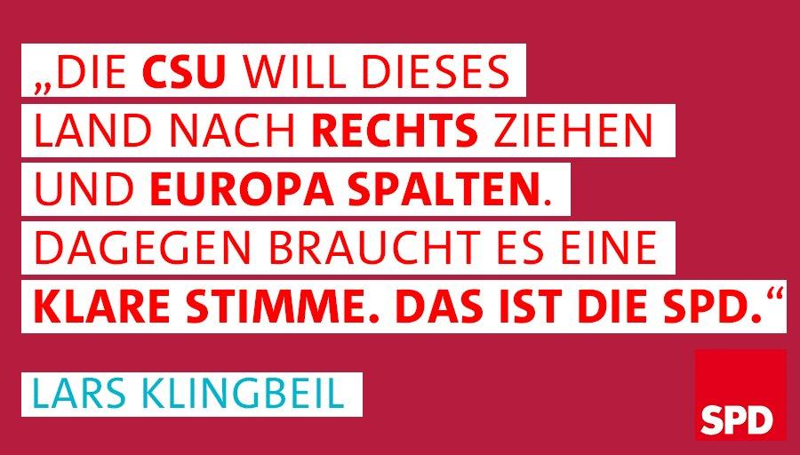 """.@larsklingbeil: """"Nationale Alleingänge in der Asylpolitik schließen wir aus. Wir wollen eine europäische Lösung."""" https://t.co/H0khcVKRRw"""