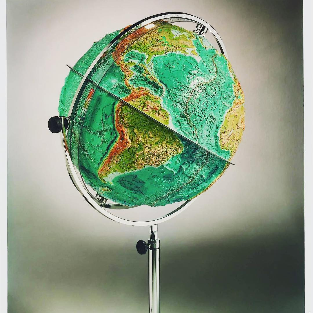 Raised Relief Globe. Is a picture of a raised relief globe still only worth a thousand words?   #topography  #geography #geographyteacher #geodata #geospatial #geology  #earth   #earth #cartography  #northamerica #centralamerica #southamerica  #platetectonic  #continentaldrift<br>http://pic.twitter.com/ADJhgVOCvR