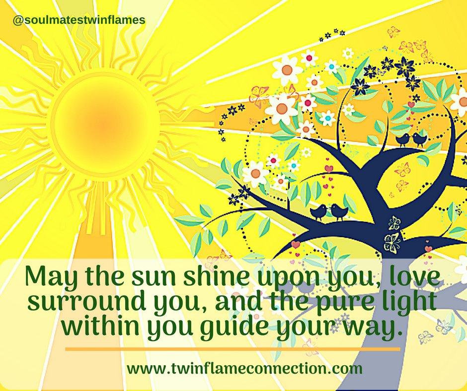 May the sun shine upon you, love surround you and the pure light within you guide your way. #summersolstice #happysolstice #solsticeblessings #summersolstice2018 twinflameconnection.com