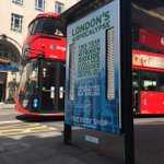 Throwback to the @TheBodyShopUK  London's Airpocalypse bus shelter campaign we installed with @air_labs last June!  Celebrating #CleanAirDay