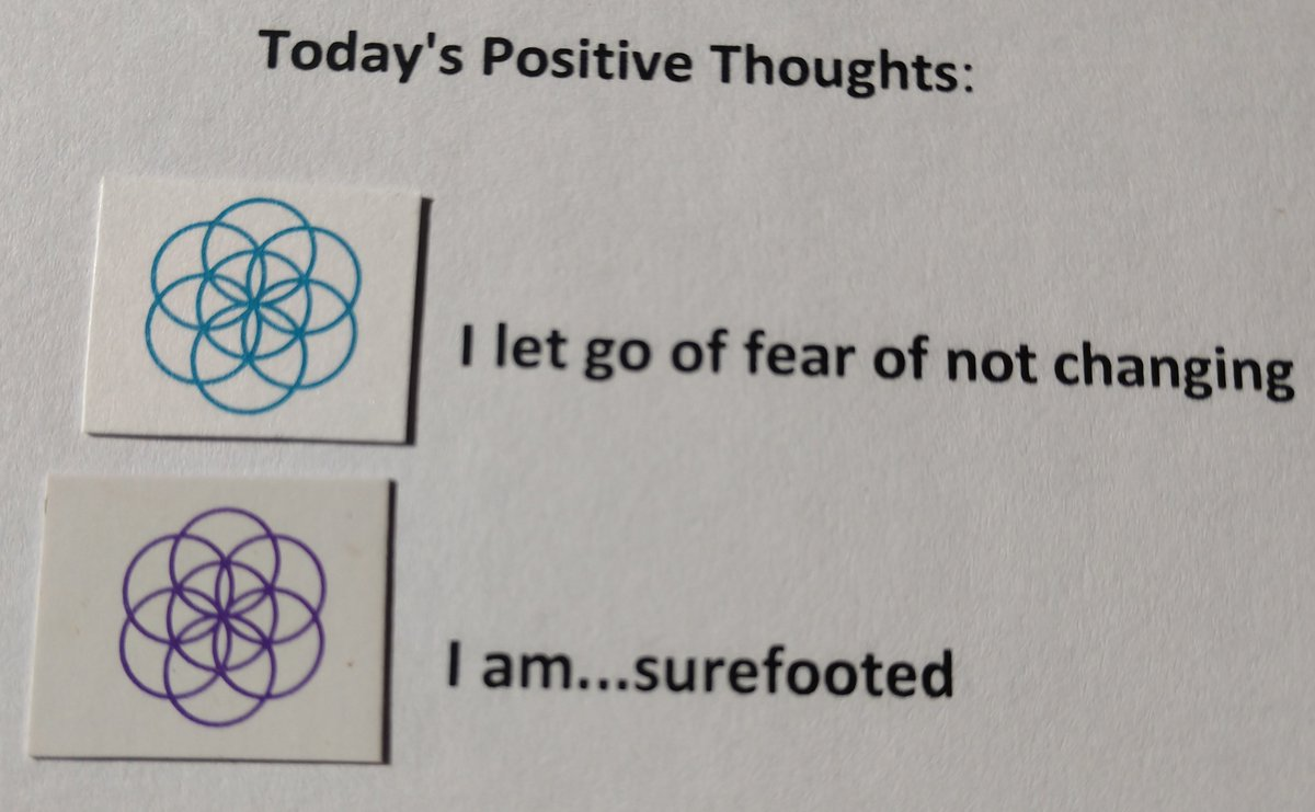 test Twitter Media - Today's Positive Thoughts: I let go of fear of not changing and I am...surefooted. #affirmation https://t.co/keZF9jP5Yx
