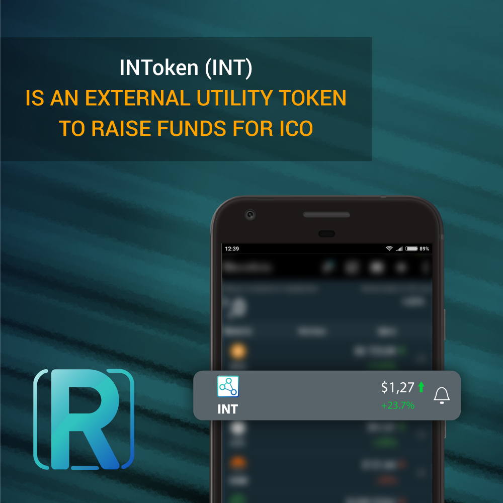 INToken (INT) is an external utility token to raise funds for ICO. Buy INToken today! Make a great deal today! More details you can see at InRating White Paper on official website  https:// invest.inrating.top/en/  &nbsp;   #InRating #ICO #rating #invest #top #buy #best #token #real #startup<br>http://pic.twitter.com/ETL6bV6Hzv