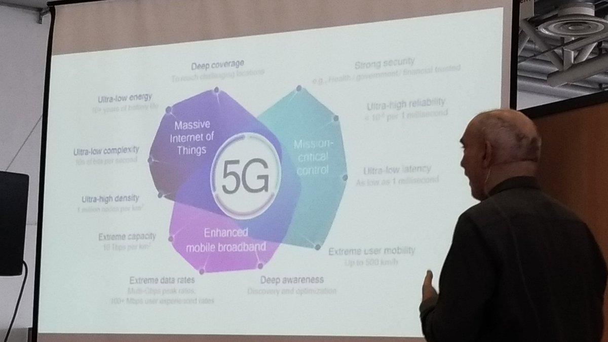 Alors , parlons de la 5G par ex ? Une deeptech pr laquelle il va falloir inventer des services qui en profitent, dixit @olivez ! #DemoCamp by @lebivouac_  - FestivalFocus