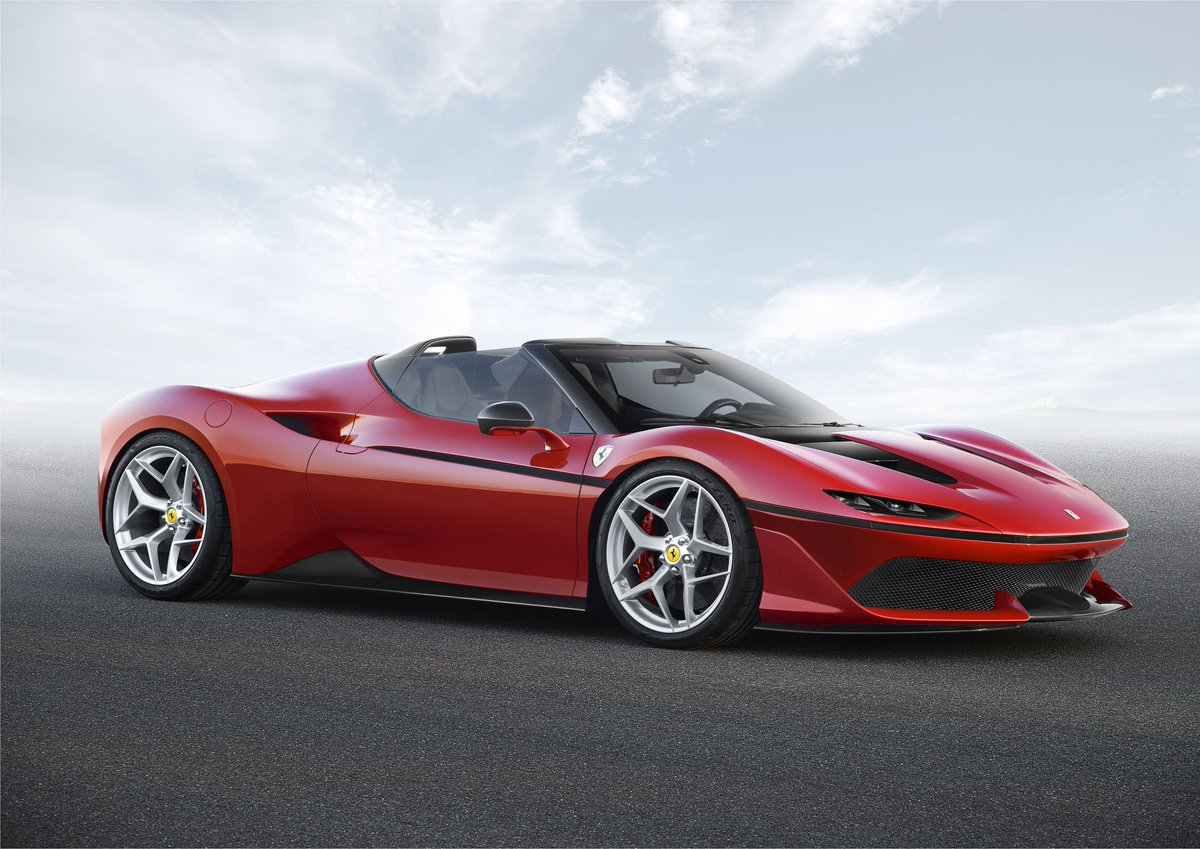 If Design On Twitter Gold Awarded Ferrari J50 Passenger Car Ferrari Italy A Lustrous Design Statement By The Ferrari Design Center The J50 Emphasizes The Brand S Values And Transports Them To