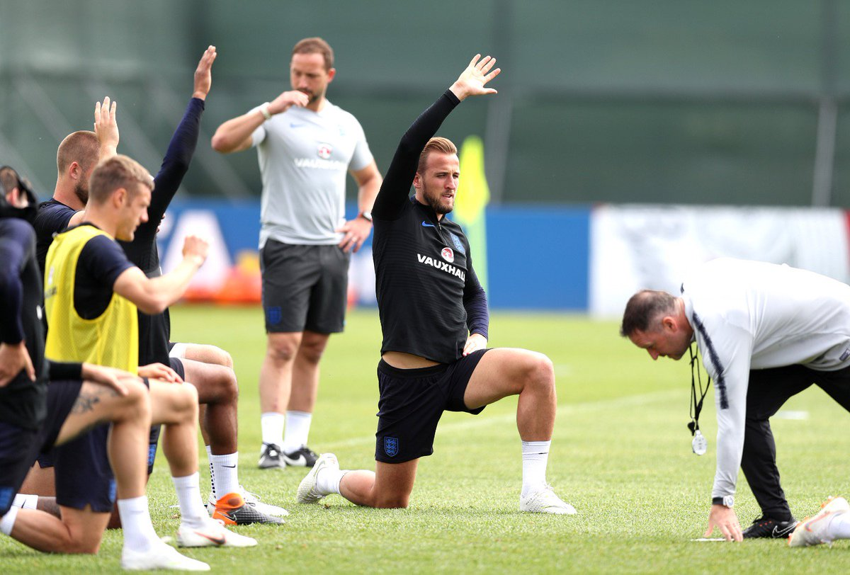 Hands up if youre looking forward to Sunday. 🙋‍♂ #ThreeLions