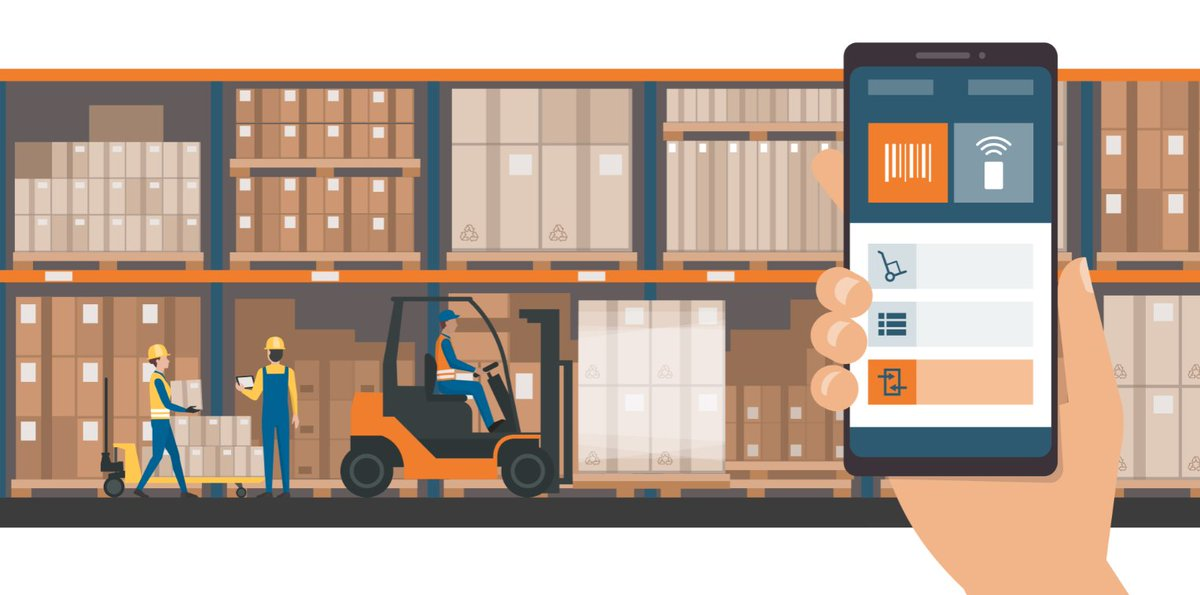 Combining a #barcode system with handheld #mobile devices will make your #warehouse feel a lot smaller. See what @ZalinskiBarcode of @BarcodingInc had to say about the power of data collection:  http:// bit.ly/2tfbtkQ  &nbsp;   #SupplyChainGeek #scm #logistics #WMS @Ind_today<br>http://pic.twitter.com/SLIoOhsUQA