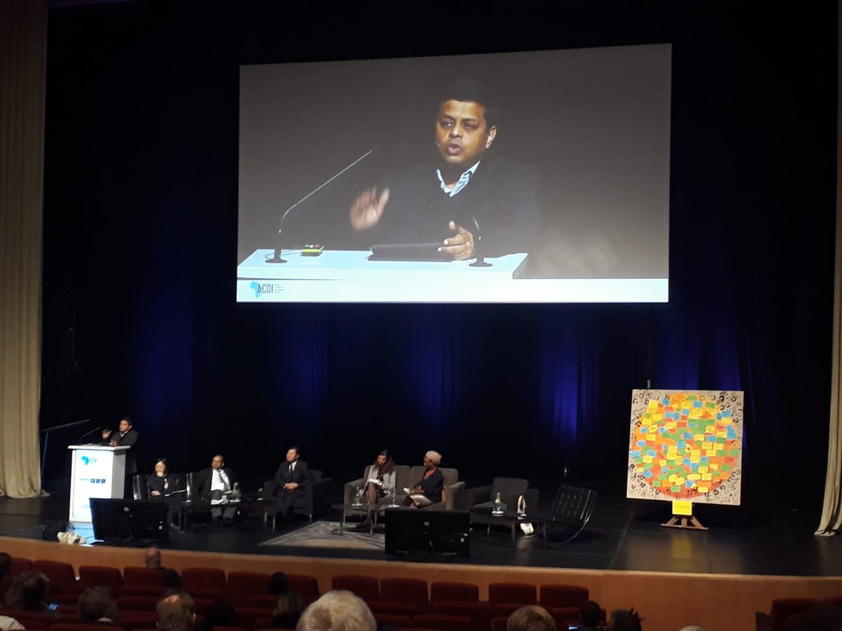 """Negative Emissions Technology is maladaptation on steroids"" @AromarRevi wrapping up the #AF2018 @AdaptFutures"
