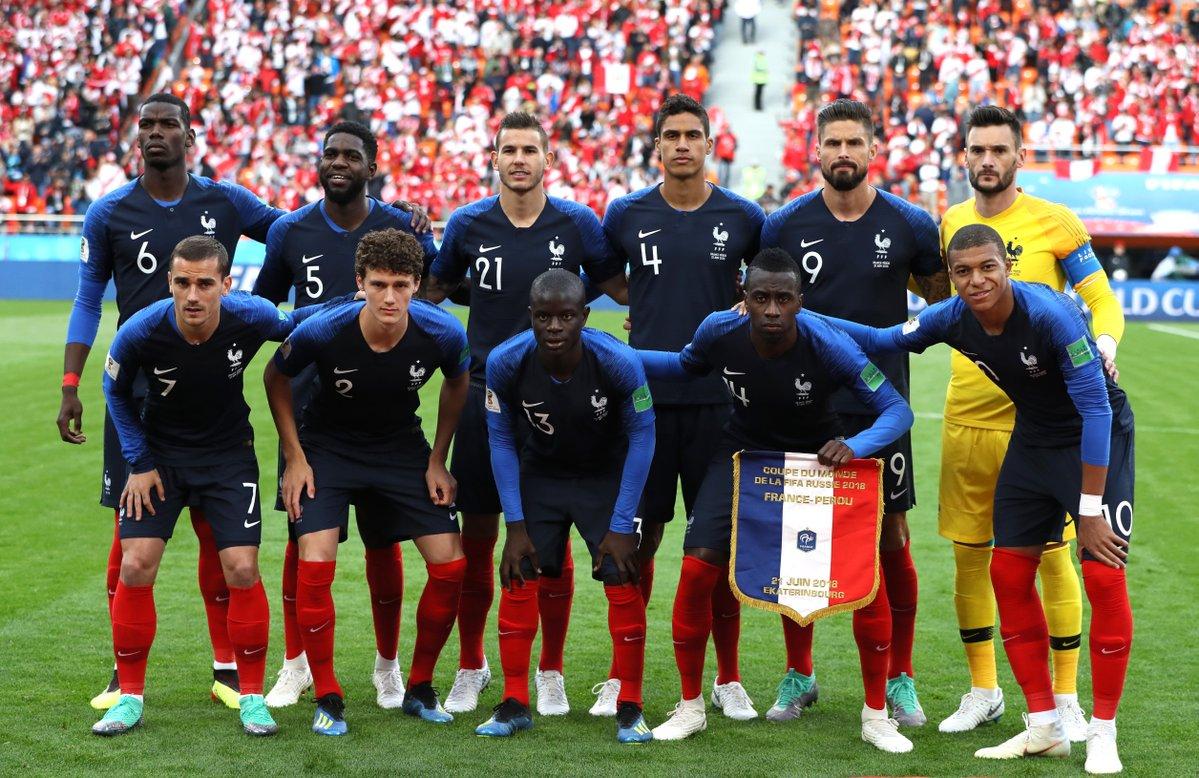 #Russie2018 #WorldCup #France #Pérou #FRA #PER #Deschamps #Varane #Griezmann #Pogba #Mbappé #Giroud Coupe du Monde : 2ème match, 2ème composition d\
