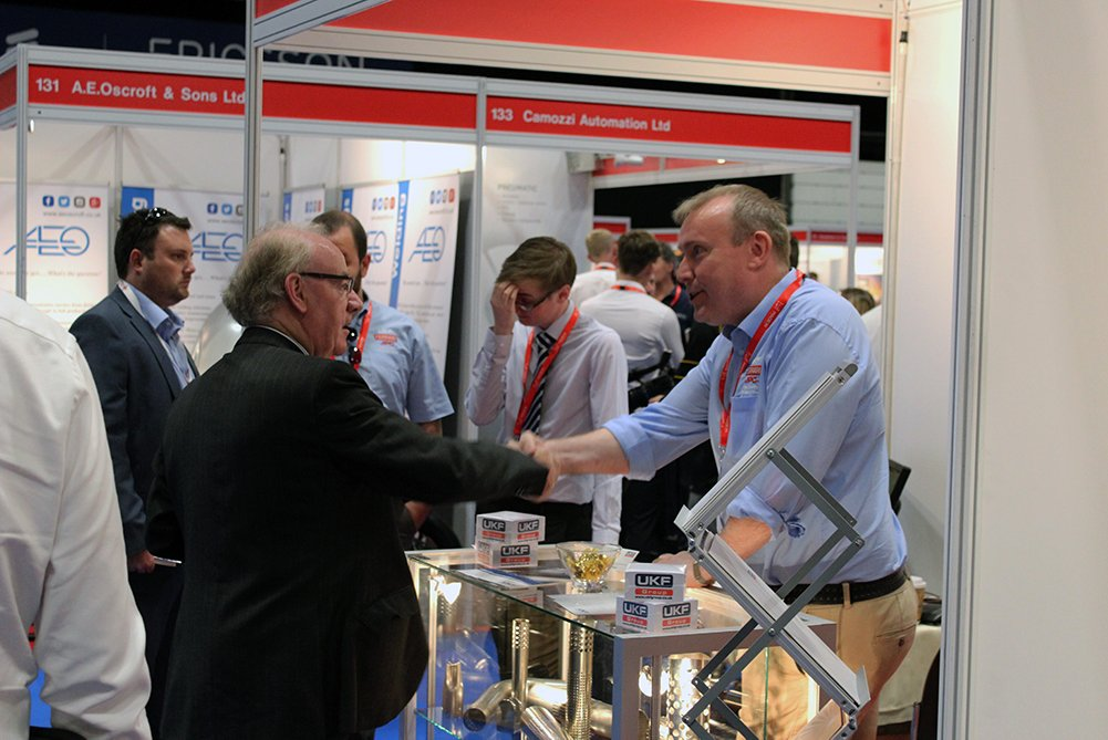 Thank you to everyone who came down to see us at Made in the Midlands Exhibition 2018 today.  It was great to see everyone, make new connections and help strengthen the Midlands as a growing industrial region within the UK. #ukmfg #MiMExpo2018 @JPCPerforators @UKFGroup <br>http://pic.twitter.com/UGU7Ci0rjM
