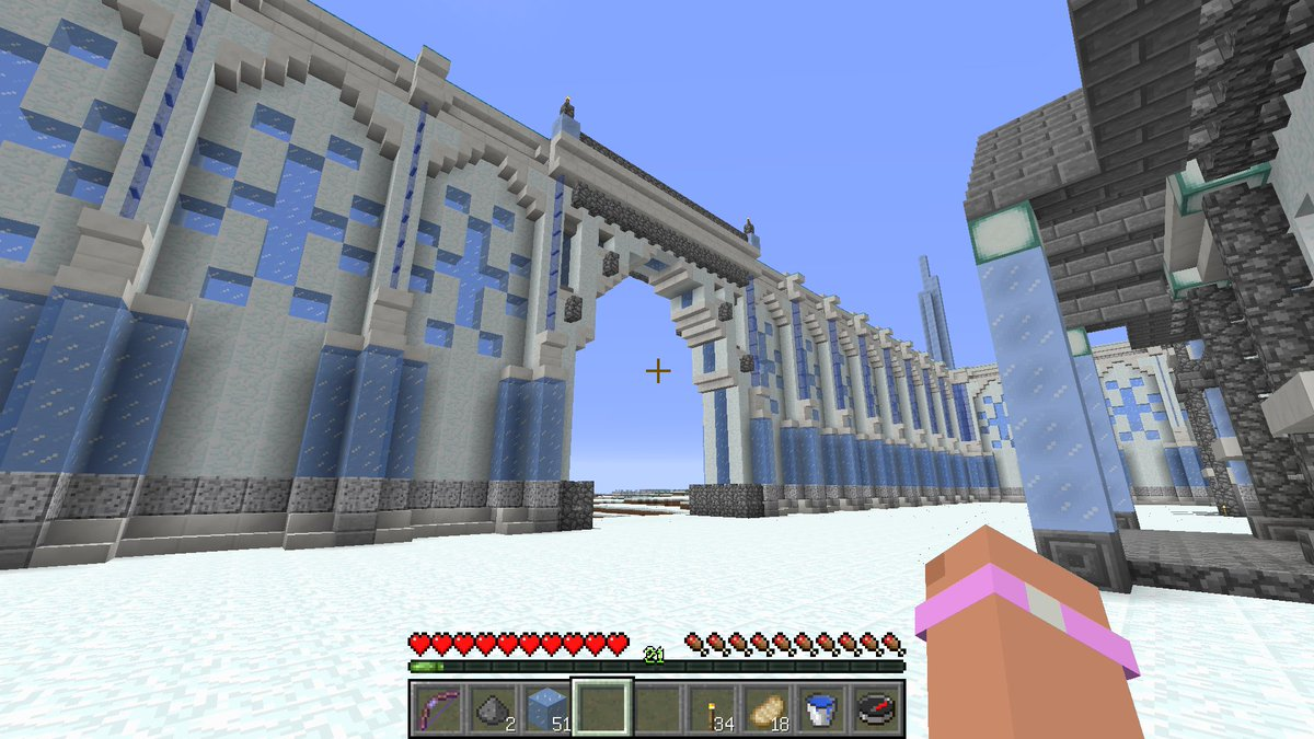 Homissan On Twitter Ice Castle Gate Is Completed W