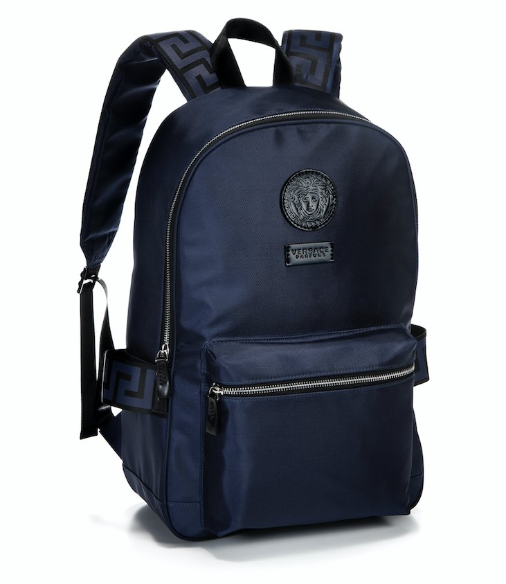 It s a Gift-With-Purchase  hudsonsbay now. Buy any large Versace fragrance  at you get this navy backpack free! (while supplies last) Win one here! 219be43877
