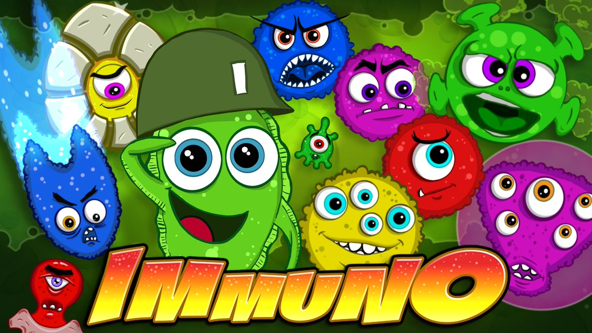 Viruses have INVADED!!! Fight them for free!  https:// buff.ly/2xZZFro  &nbsp;      Share our story... Facebook  https:// buff.ly/2Mah0kq  &nbsp;      Twitter  https:// buff.ly/2sJYw2d  &nbsp;      Discord  https:// buff.ly/2JvDue5  &nbsp;       #GameDev #IndieDev #GameArt #IndieGame #indiewatch #SGTVA <br>http://pic.twitter.com/Fk4hfwlpDj