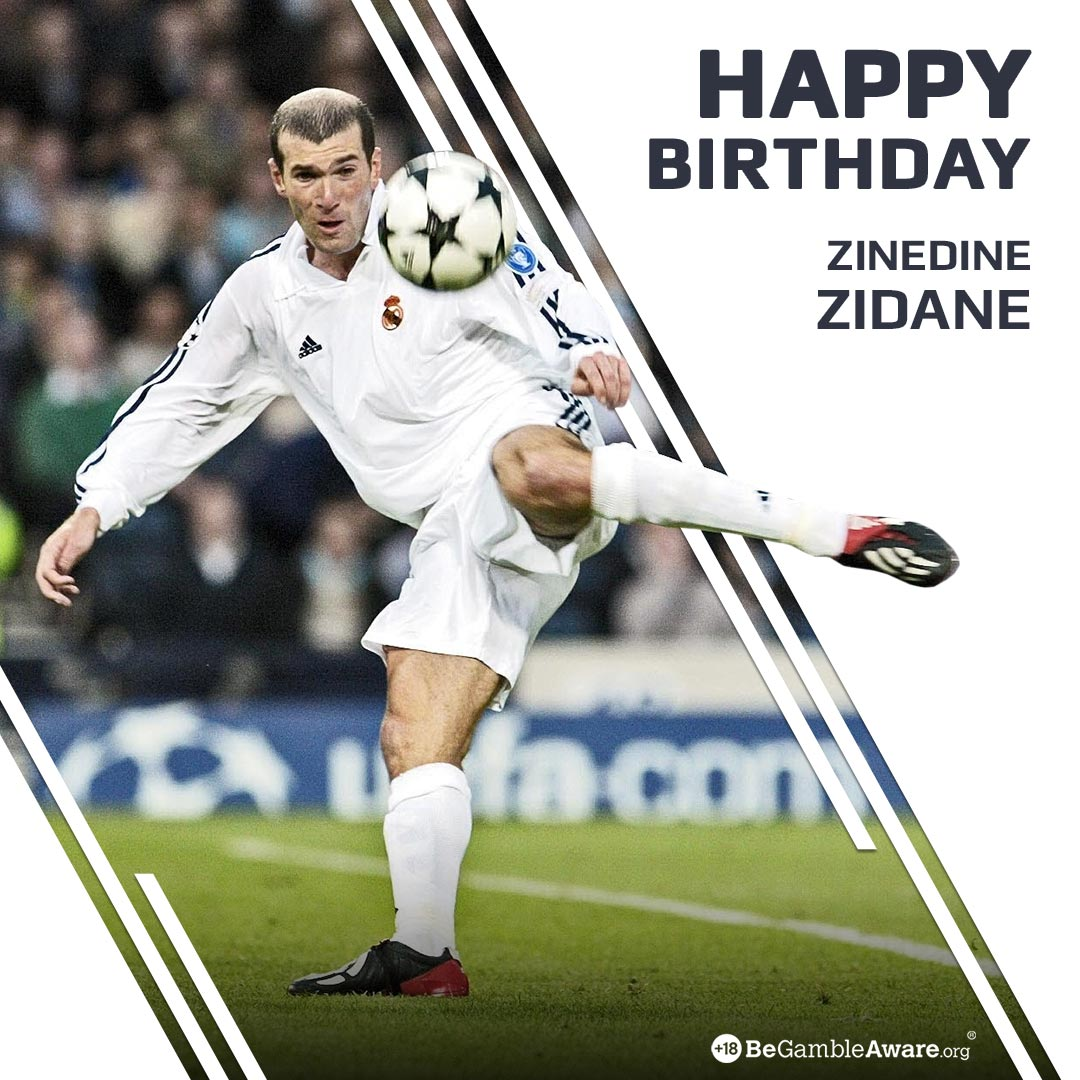Happy Birthday Zinedine Zidane!   3 years as a manager, 3 Champions League trophies!  1 World Cup  1 European Championship  2x Serie A  1 La Liga  #Zidane #RealMadrid #Juve #Juventus #LaLiga #SerieA #FRA  #France98VSFifa98 #France #UCL #ChampionsLeague<br>http://pic.twitter.com/7cTSI5tNPY