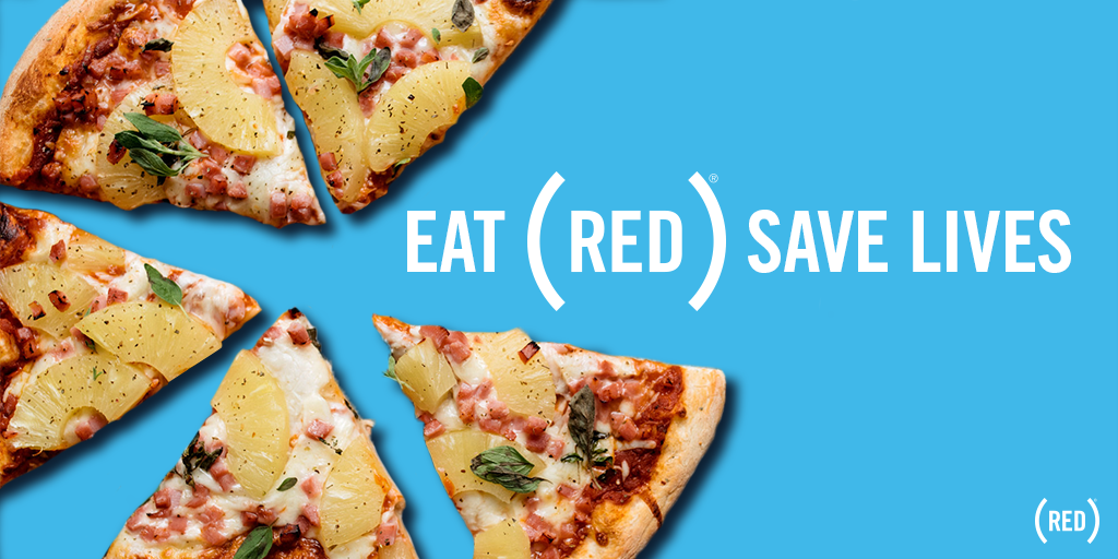 Have your cake and save lives, too, with EAT (RED) SAVE LIVES: bit.ly/2J7N3PX.