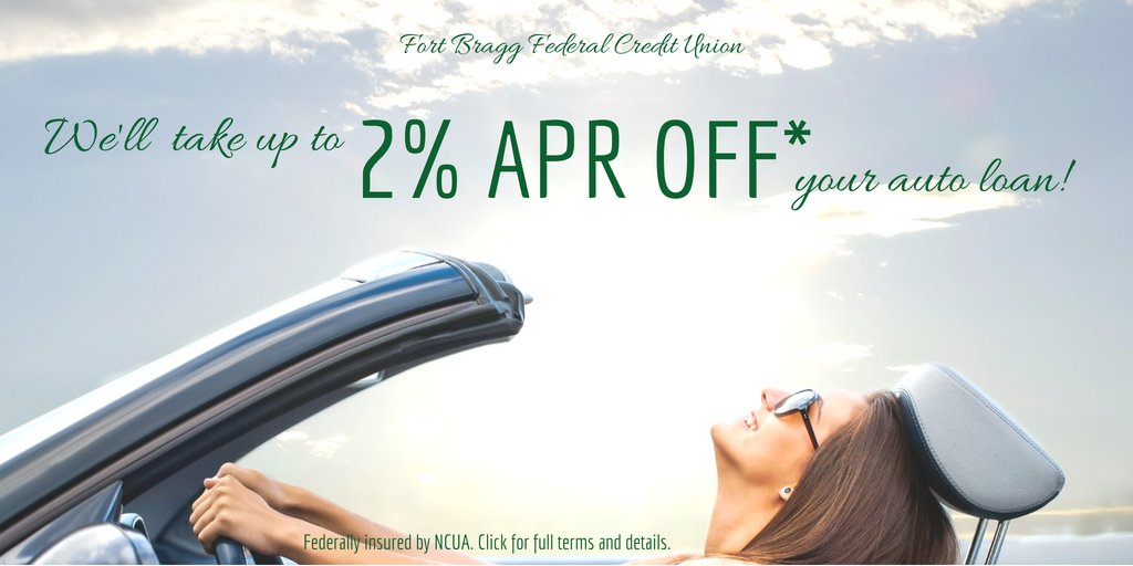 Fort Bragg Fcu On Twitter With This Offer It S The Perfect Time