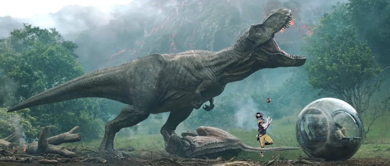 Not sure this guy could cover @AB84 either...   #JurassicWorld #FallenKingdom