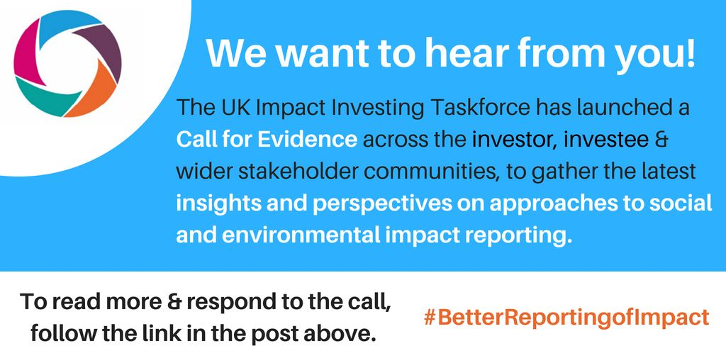 test Twitter Media - How can Better Reporting help grow a culture of social impact investing in the UK? Please respond to the call for evidence of the Taskforce on social impact investing here --> https://t.co/uEfFshGoII  #BetterReportingofImpact https://t.co/vrG54dRlUf