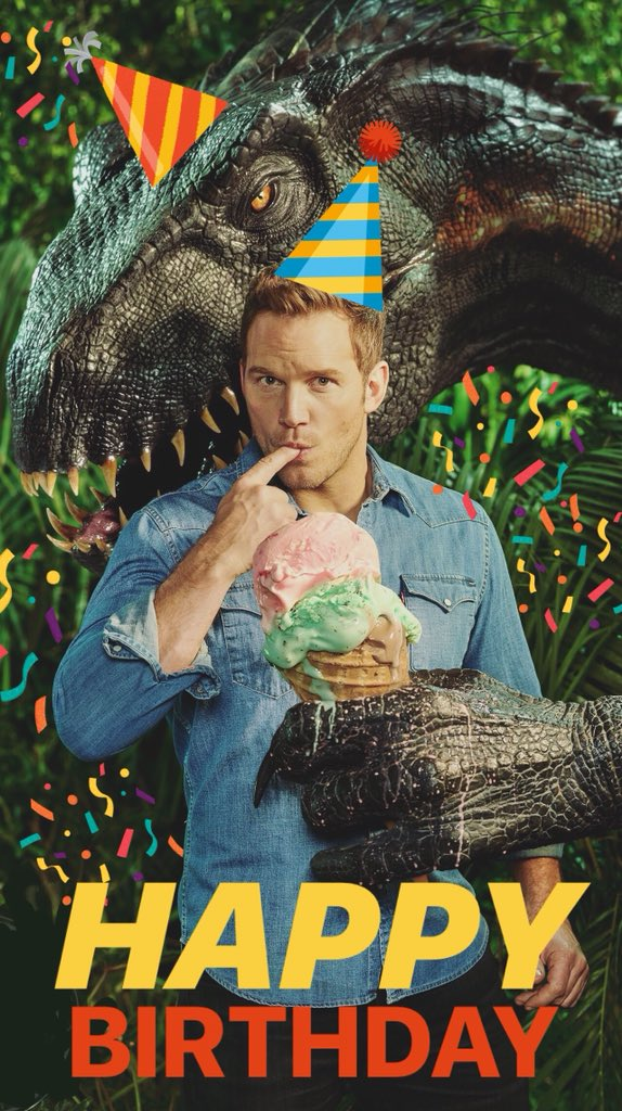 Happy birthday to the☝�� and only @prattprattpratt - you're out of this ��!!! https://t.co/xWbLa5L1dJ
