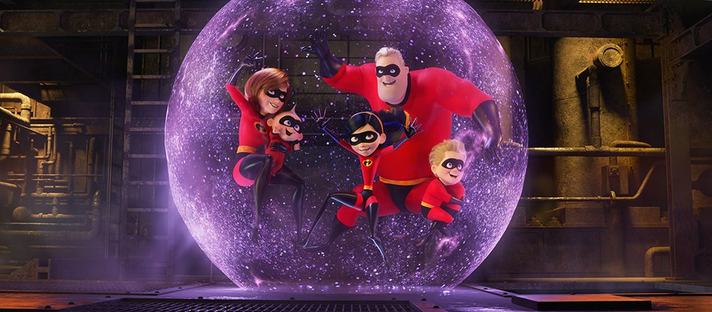 Twenty-five Texas A&amp;M visualization graduates, now @AnimationPixar employees, helped create @TheIncredibles 2, a record-smashing film about a crime fighting superhero family which delighted critics with its mastery of technical wizardry. @DisneyPixar   http:// bit.ly/tamuincredible s2 &nbsp; … <br>http://pic.twitter.com/izzFd3j8ac