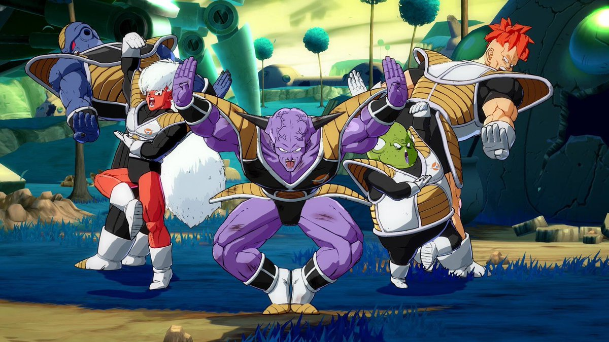 The only Space Force that matters #DRAGONBALLFighterZ
