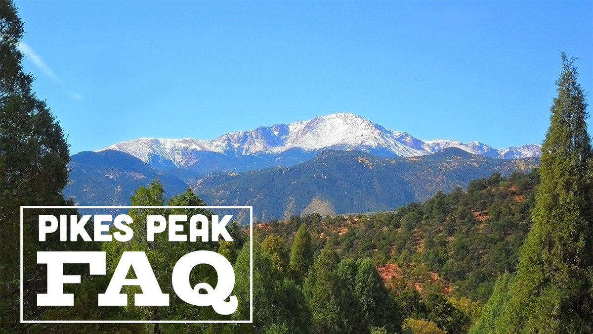 Pikes Peak Parking >> Pikes Peak On Twitter Faq Can I Bring My Dog A Pets Are