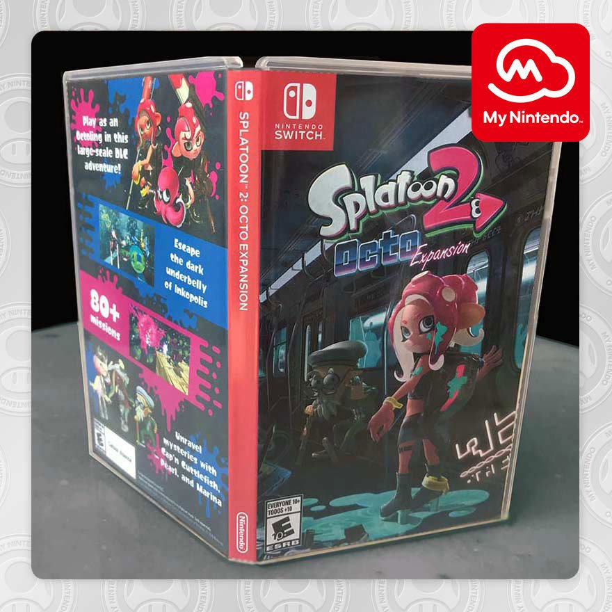 Attn Octolings: Stay fresh with #MyNintendo and redeem your points for a printable #Splatoon2: Octo Expansion themed box art cover and wallpaper! bit.ly/2MFCZQq