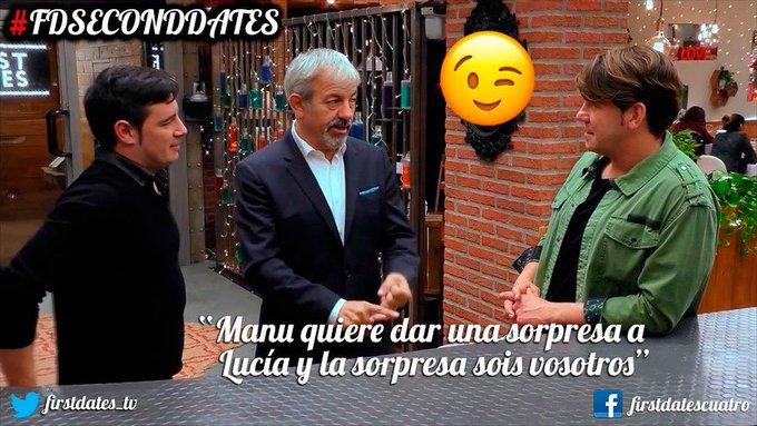 ¡Esta noche celebramos el amor con nuevas segundas citas en #FDSecondDates! 😍😍 ¡Además volverán @_AndyyLucas_ hoy para dar una sorpresa! Foto