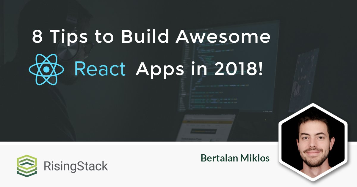 Here are some tips and tricks to build great #apps using #ReactJS:  https:// buff.ly/2IX44fQ  &nbsp;  <br>http://pic.twitter.com/wieBD2Usxq