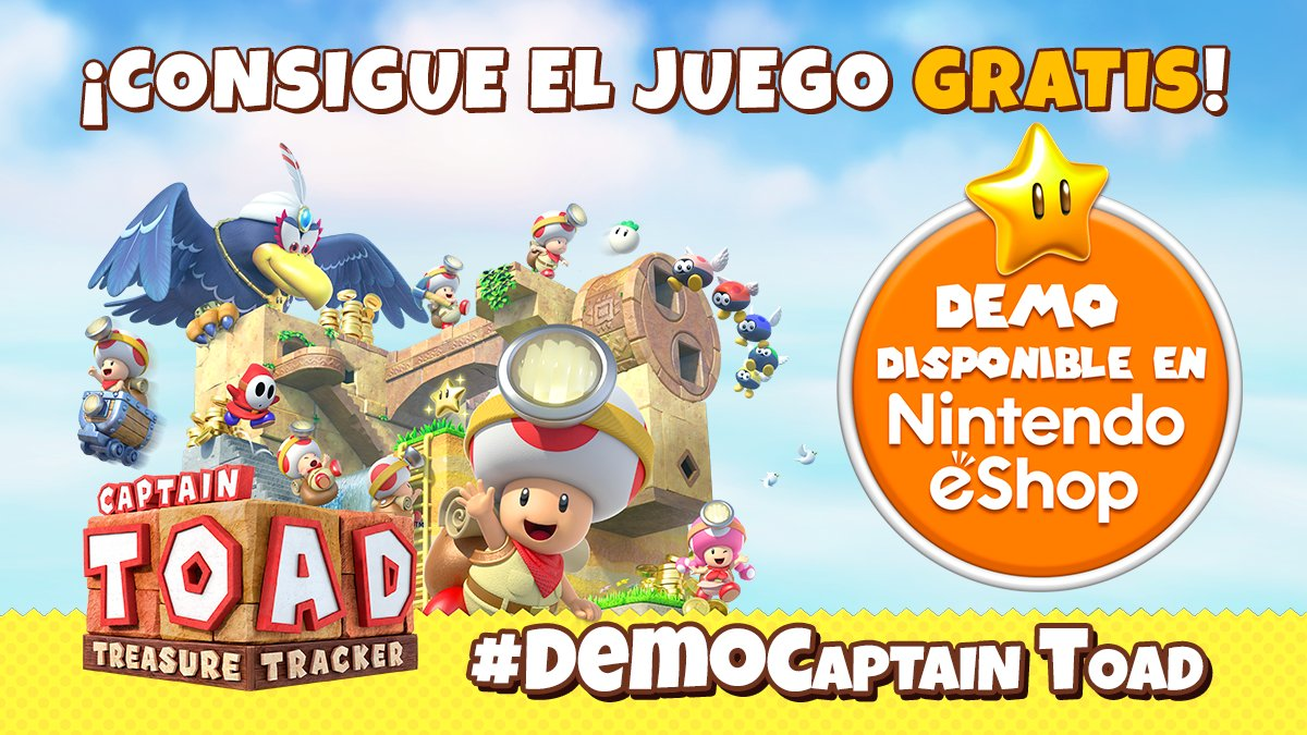 Nintendo Espana On Twitter Sorteamos Tres Captaintoad Treasure