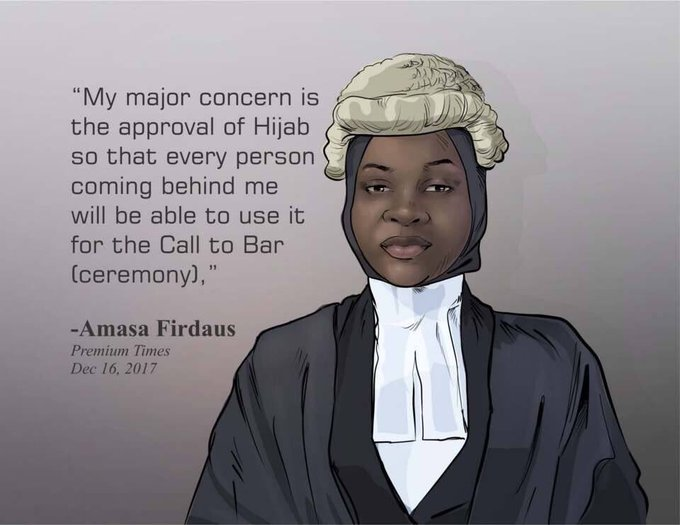 Second chance for brave Nigerian lawyer denied call to bar