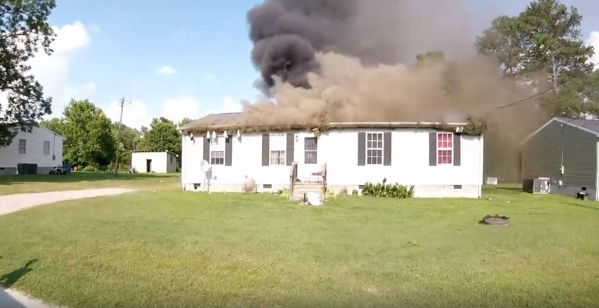... Of A House Fire In Greensville, County Virginia  Http://www.chicagofirewire.com/national Wire/helmet Cam Video Greensville County Virginia  House Fire/ U2026