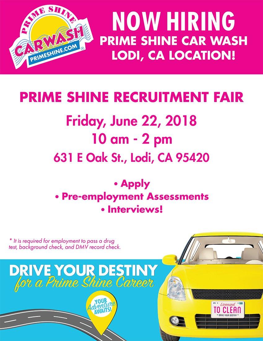 sjc worknet on twitter prime shine recruitment fair friday june
