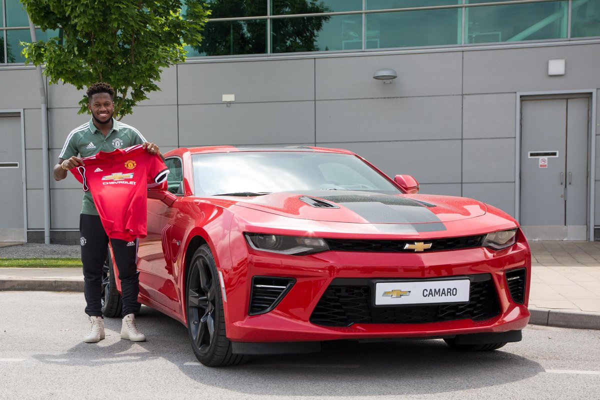 There's another #Fred in town. #TransferWindow #MUFC #GGMU