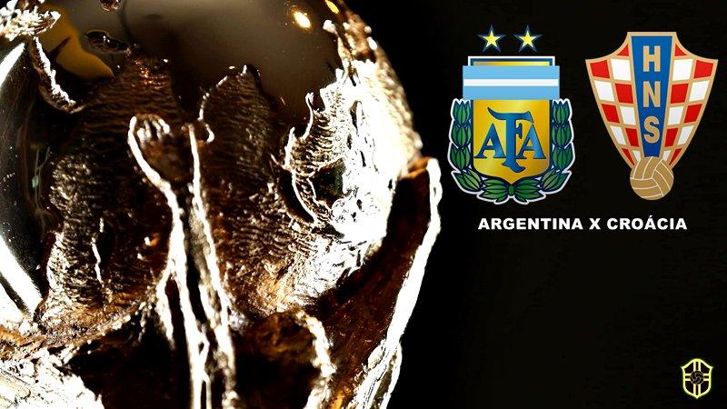 15h00   Copa do Mundo (#WorldCup) - 2ª rodada (Grupo D)  #ARG x #CRO  📺 Rede Globo, SporTV e Fox Sports