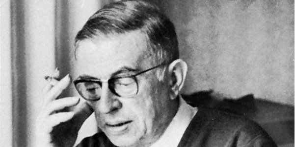 French writer and philosopher Jean-Paul Sartre, the leading figure of the Existentialist movement, was born #OnThisDay in 1905. Photo