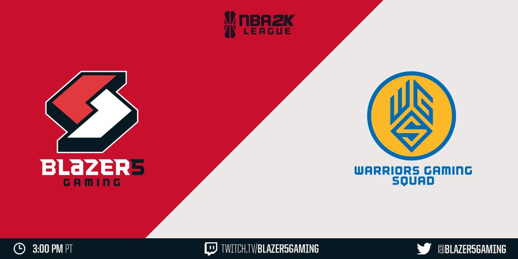 Our first meeting this year with our Southern rivals. 🎮 vs. @WarriorsGaming ⏰ 3:00pm PT 💻 twitch.tv/blazer5gaming