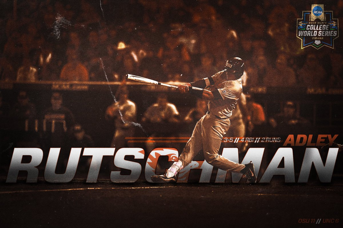 Saw this photo of Adley Rutschman from @BeaverBaseball and got inspired, so I had to retouch it before Friday&#39;s game! #GoBeavs #CWS2018<br>http://pic.twitter.com/5WahhlphSU