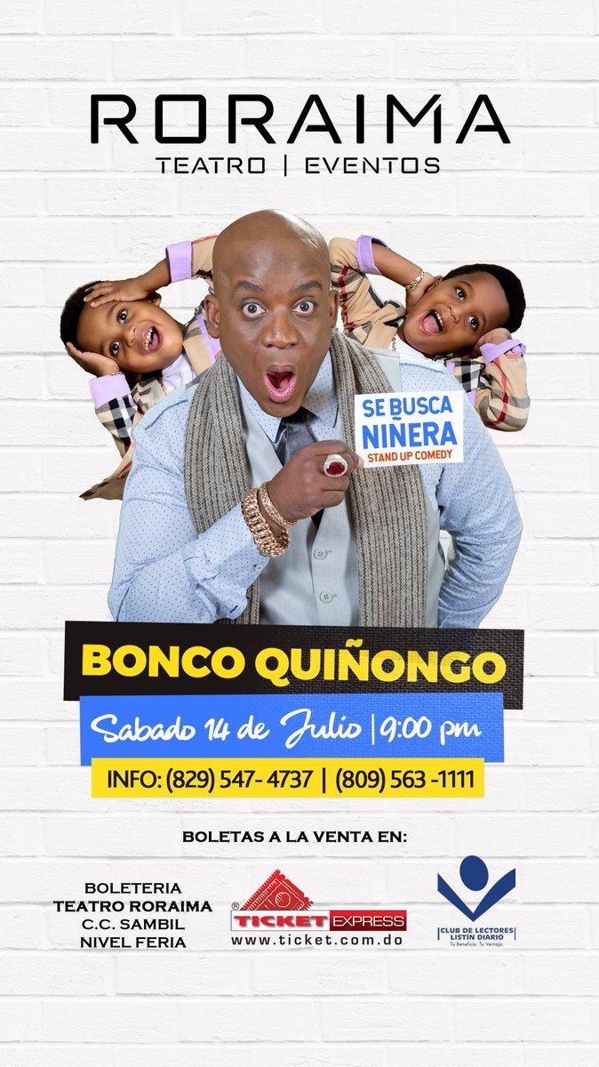 NO SE PUEDEN PERDER A @boncoquinongo EN RD !