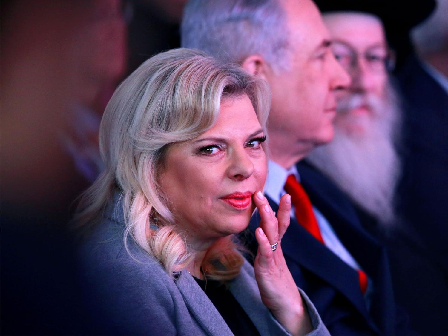 Sara Netanyahu, wife of Israeli PM, charged with fraud https://t.co/mBWvE02owK https://t.co/H4V6haIpiH