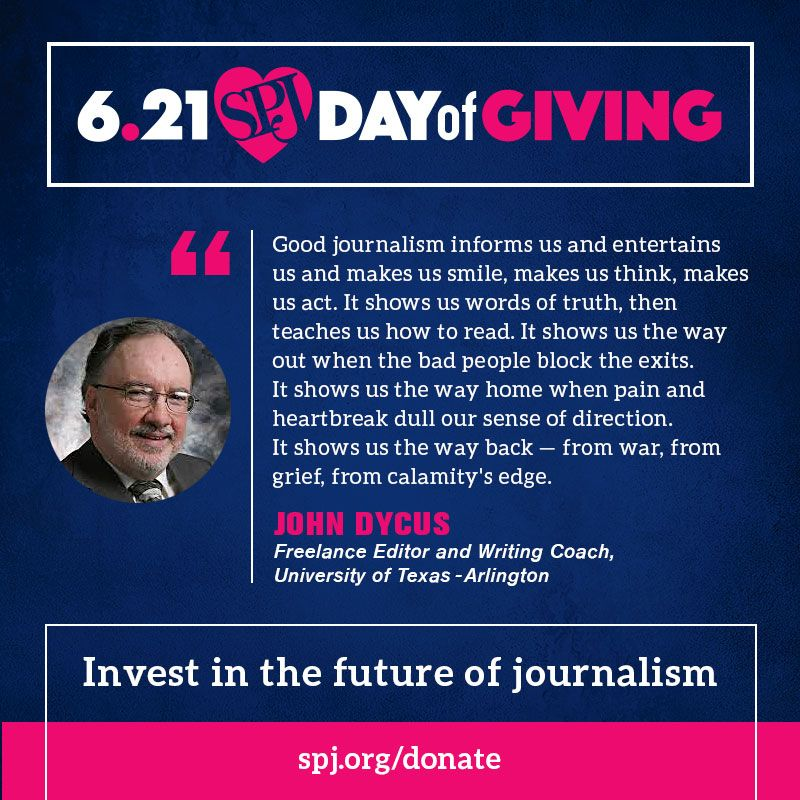 Day of Giving is in full effect! Help us reach our goal and ensure freedom of the press is always protected -- Invest in the future of journalism. https://t.co/uv9x9jBL7o