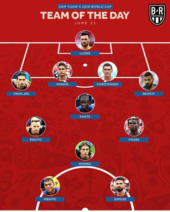 Kante x Rakitic x Pogba x Modric = the dream midfield 🔥 Photo