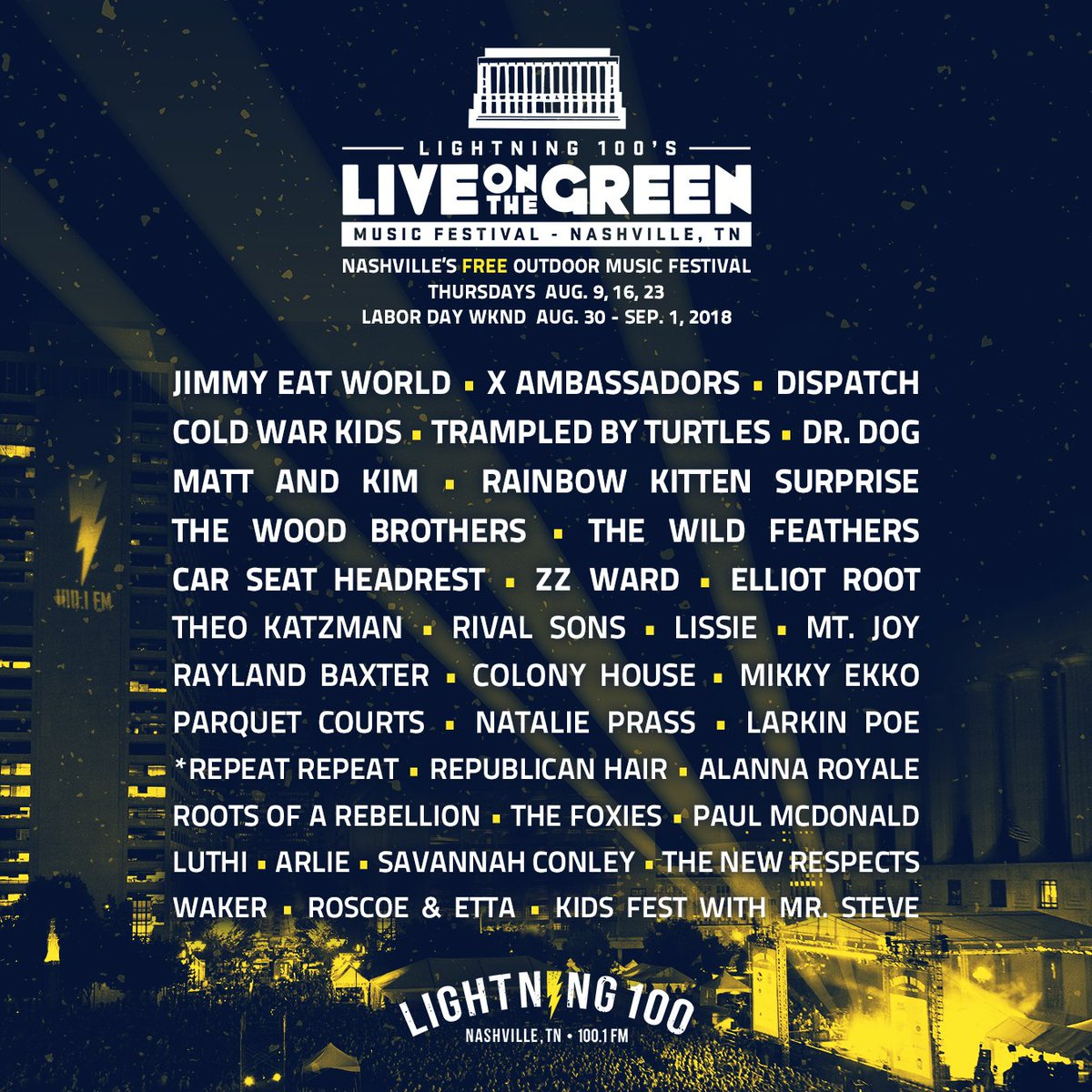 Jimmy Eat World On Twitter Nashville Were Coming To Town