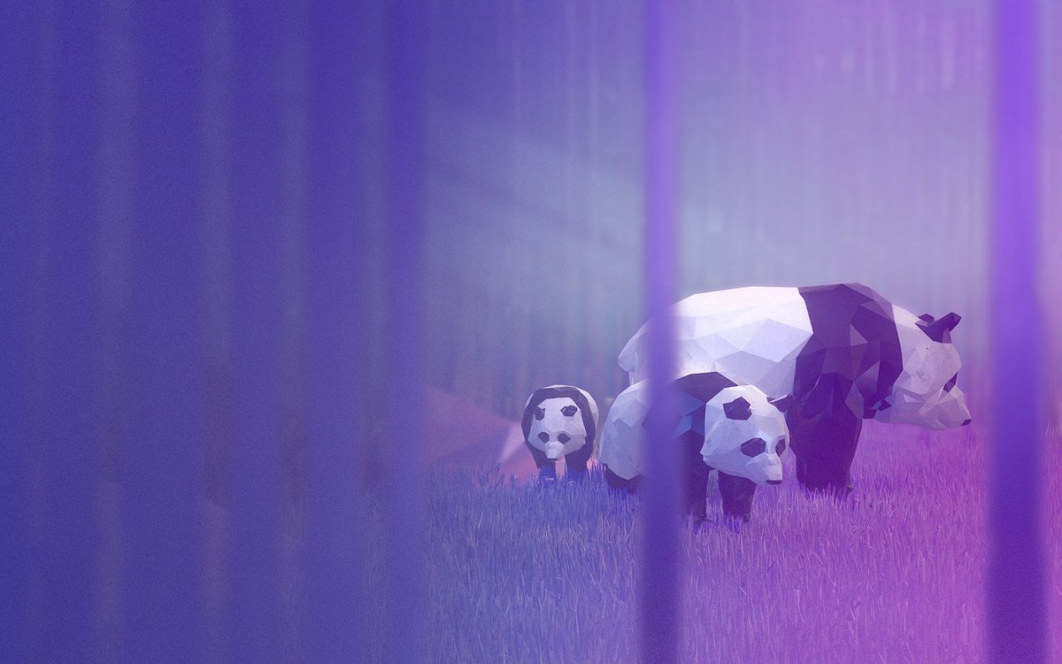 Take a walk on the wild side with this #Windows10Theme starring an awesomely lo-fi creature collection of 3D models. Get #Remix3D Animals here: https://t.co/2S6Zg5yR4N https://t.co/5HxwL1OpLf