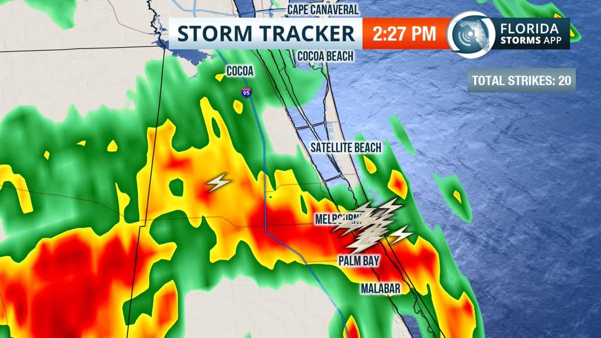 Lightning Strikes Map Florida.Florida Storms On Twitter Storm With Intense Lightning In